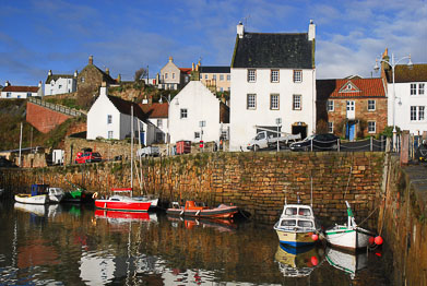 St Andrews, East Neuk and Lomond Hills