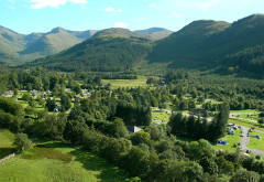 Glen Nevis Caravan and Camping Park, near Fort William