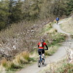 Mountain bikers at Glentress