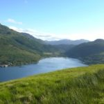 View over Loch Long from Three Lochs Way