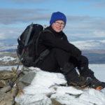 Daniel on his final summit (photo: Mark Smith)