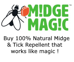 Midge Solutions - Pap of Glencoe sponsor a walk ad