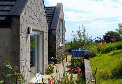 Mill Rink Cottage, Log Cabin & Static Home, Sliddery, Isle of Arran