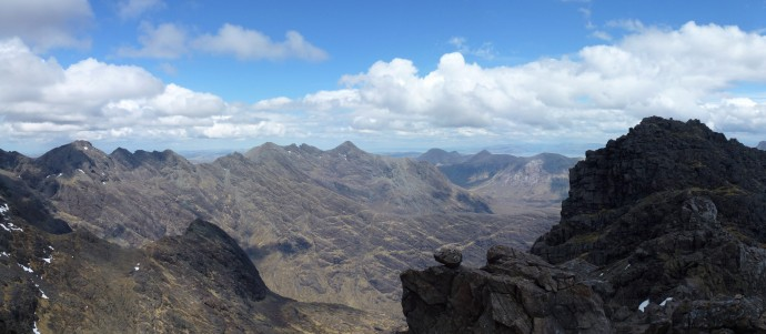Looking North from Sgurr Dubh Mor `Skye`.JPG