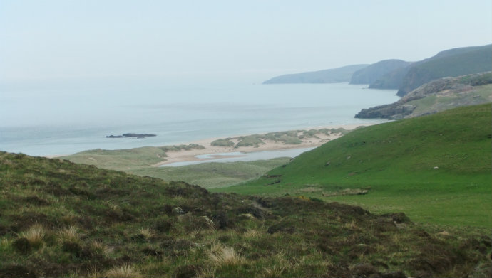copy First view of Sandwood Bay then follow the cliffs north to Cape Wrath.jpg