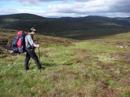 009 descending Beinn Dearg to camping spot by the river 19th June 2014 c.jpg
