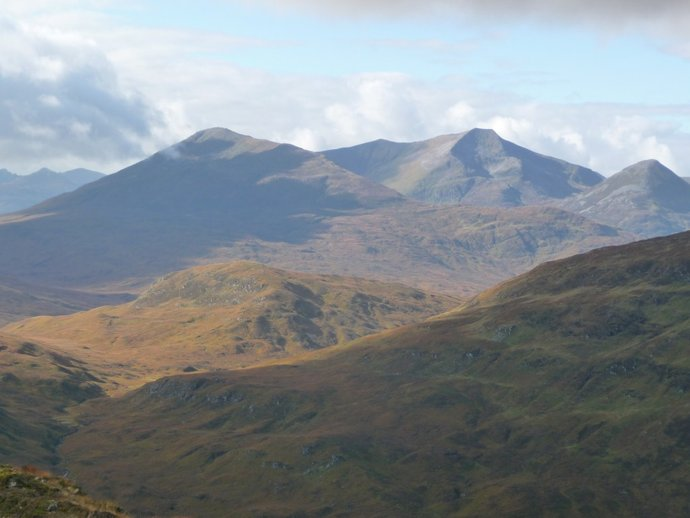 Towards the grey Corries.JPG