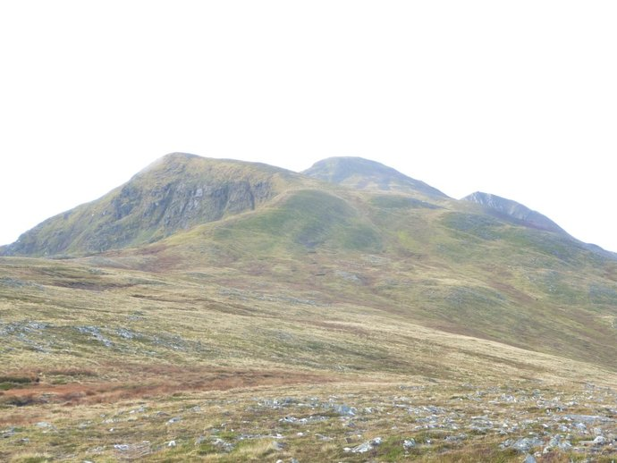 The way ahead from Meall Cian Dearg.JPG
