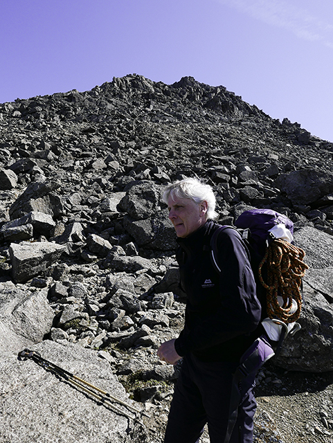 65a_Dave Nearing the Summit of Sgurr Dearg.jpg