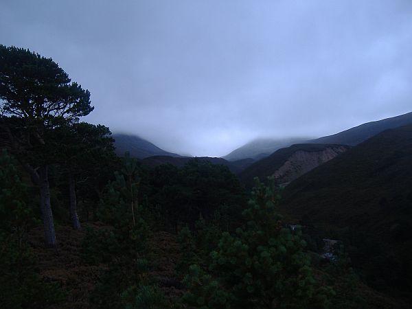 Towards the Lairig Ghru, Braerich on the right2.jpg