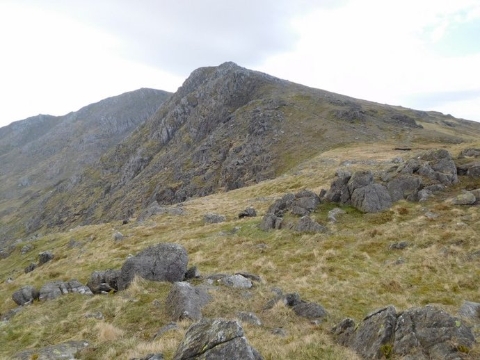 8 - Little Carrs from Hell Gill Pike.JPG