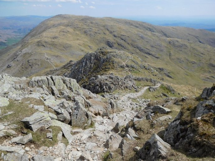 25 - Wetherlam from the Prison Band.JPG
