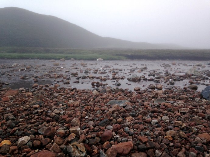 WR9 Tarf Water and Meall Dubh-Chlais in pre-sunrise murk.jpg