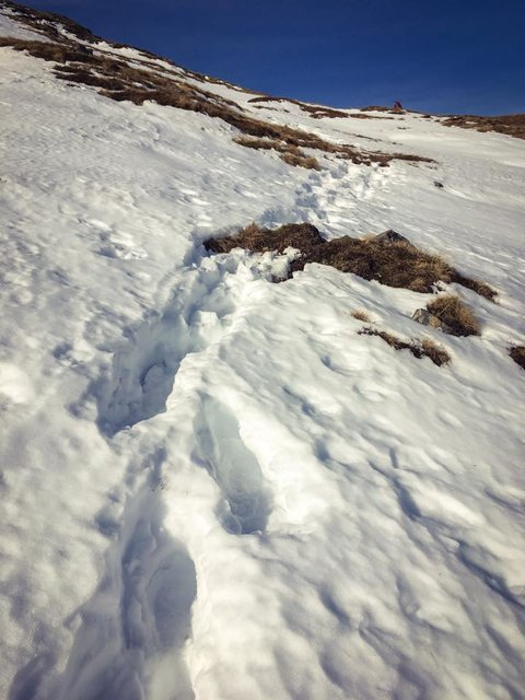 Heading up Meall first.jpg