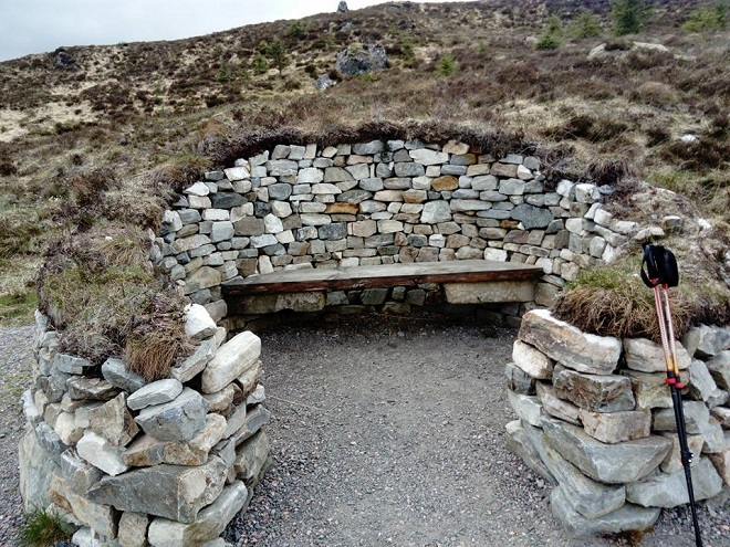 Stage 3 - Cairn at top of high route.jpg
