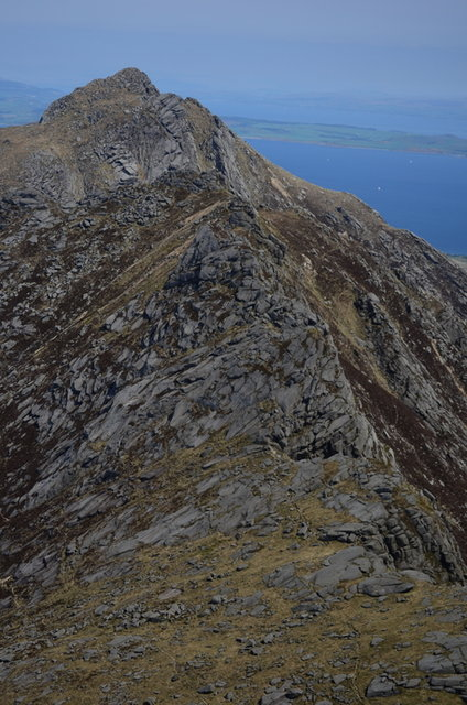 10 - Pagoda Ridge, A'Chir summit and Cir Mhor.jpg