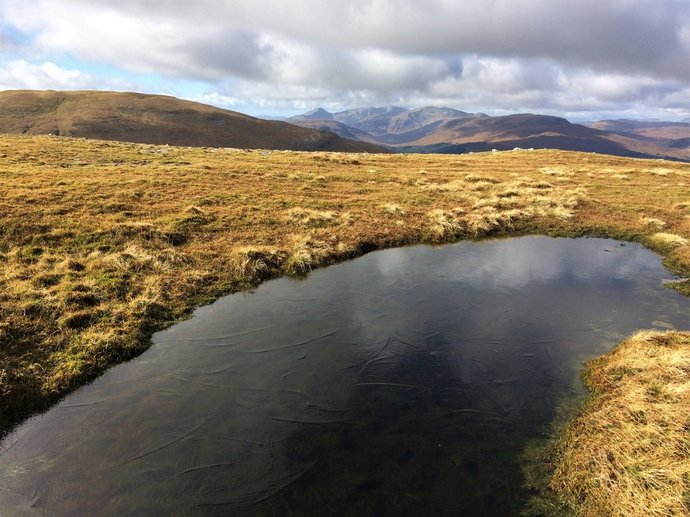 WR7 - Blackmount and a wee lochan with some ice.jpg