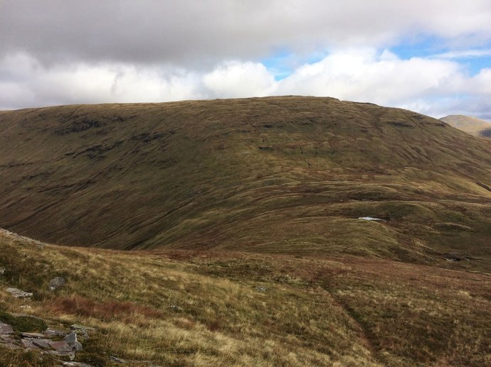 WR14 - looking back to Bhreac-Liath with a path of all things in foreground.jpg