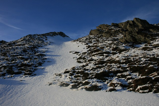 Last bit before reaching the ridge to Stob Coire Sgriodain.jpg