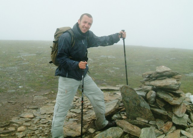 13 Me at summit Cairn of Meal a'Choire Leith.JPG