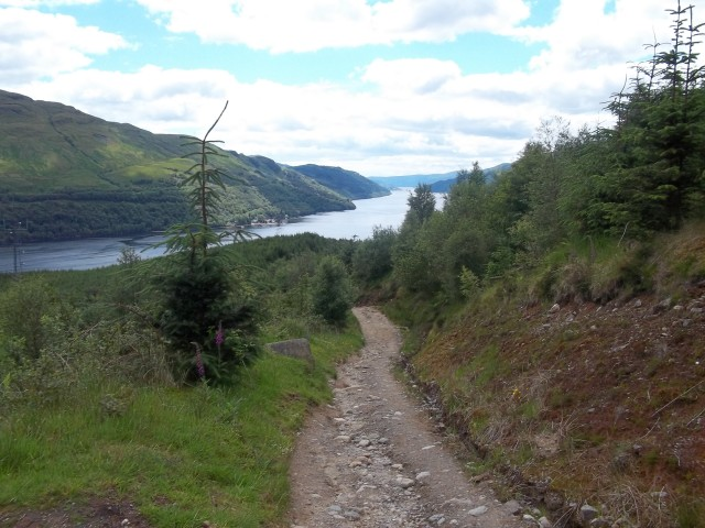 7. Looking back down to LochLong.JPG