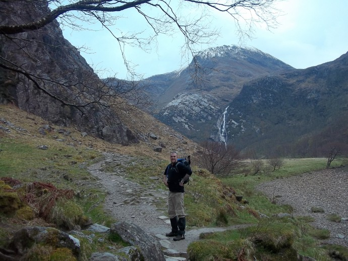 4. After a short walk, we are soon treated to some stunning views in the open glen.JPG