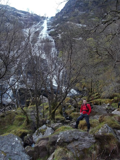 6. Tony at the Steall Falls.JPG