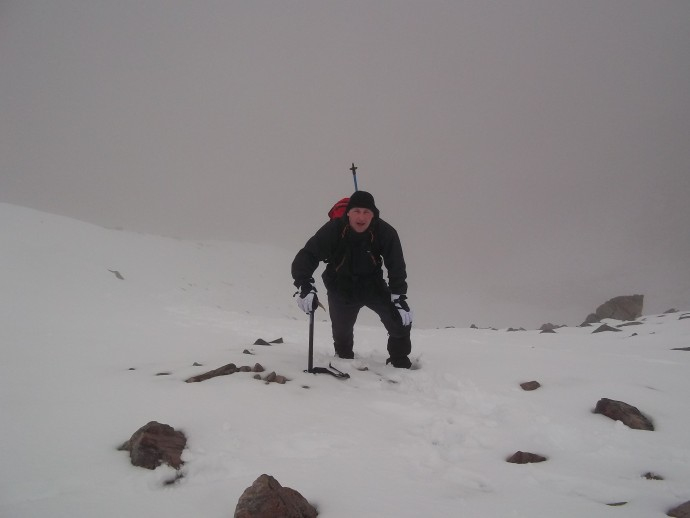 11. it was a  tough but straight forward climb to Munro No.2 Stob Coire a'Chairn.JPG