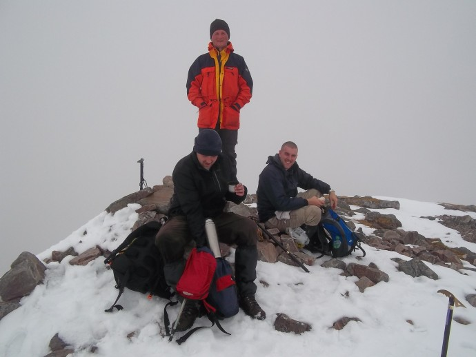 12. less than 2 hours after leaving the 1st summit and we were on the summit of Munro No.2 Stob Coire a'Chairn.JPG
