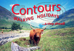 Contours Walking Holidays - Borders Abbeys Way
