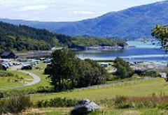 Resipole Holiday Park, near Salen
