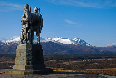 Spean Bridge, Roybridge and Loch Ossian