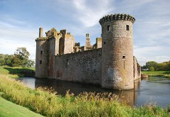 Caerlaverock Castle, near Dumfries