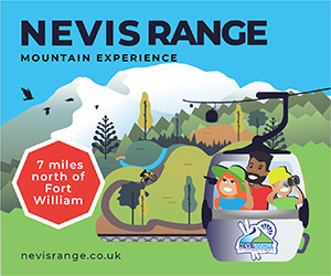 Nevis Range walk sponsor - Ring of Steall