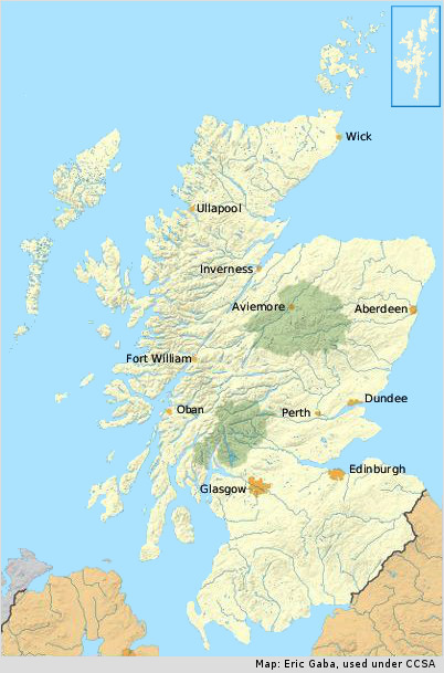 Walkhighlands: Scotland walks and accommodation