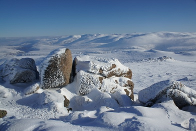 Winter on Bynack More