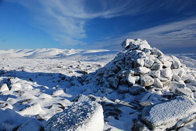 Winter on Meallach Mor