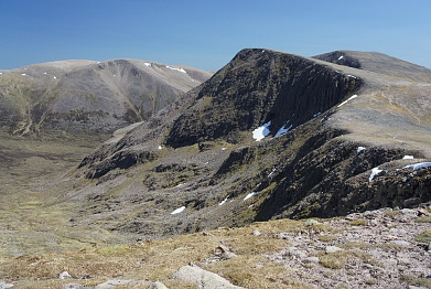 Sgor an Lochain Uaine in the Cairngorms