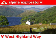 Alpine Exploratory on the West Highland Way