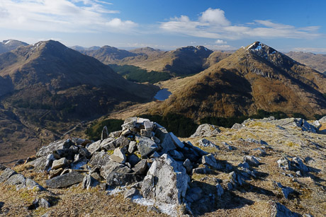 Arrochar Alps and Crianlarich