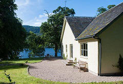 Pier Cottage, near Dores, Loch Ness