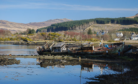 Salen, Craignure and Central Mull