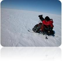 Karen Darke Skiing