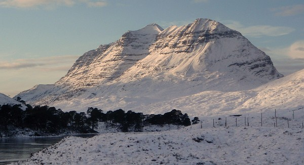 Liathach seen on the 27th. Photo: HighlandSC