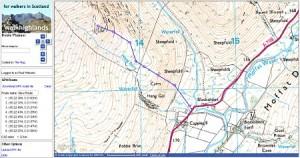 Ordnance Survey Mapping Goes Free Walkhighlands - Walking map planner