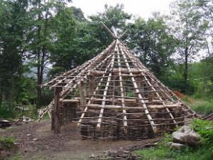 Replica Roundhouse Built On Arran Walkhighlands