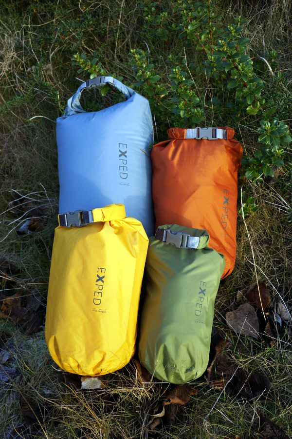 The Exped Fold range offers a good choice of colours – the four pictured  are from the  Drab  range but most sizes are also available in  Bright  or  plain ... c6a0f836990c5