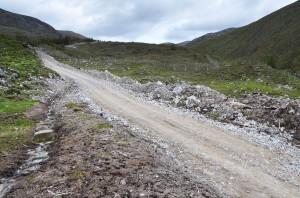 Hill track near Loch Monar