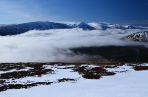 Inversion on the Monadhliath plateau