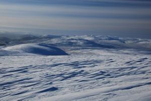 Monadhliath Plateau in winter